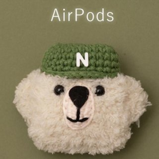 3D Plush Furry Case for Apple AirPods Soft Charging Box