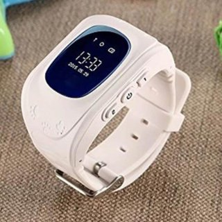GPS Kids Smart Watch Double Location Safe Watch Activity Tracker SOS Call for Android and iOS Phone