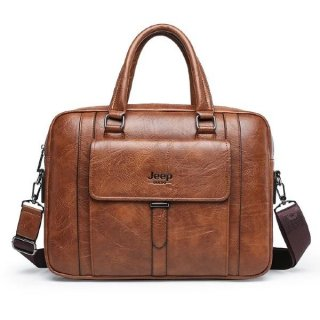 Men's BusinessLarge Capacity Computer Briefcase Bag