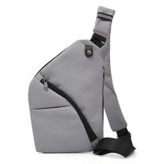 Men Travel Business Zipped Pocket Anti Theft Cross-body Bag