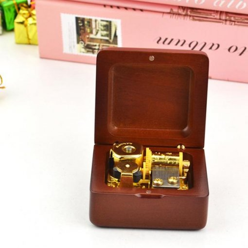 Perfect Gift Wooden Music Box