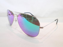 3025-00319 SILVER-GREEN  sunglasses  SR009