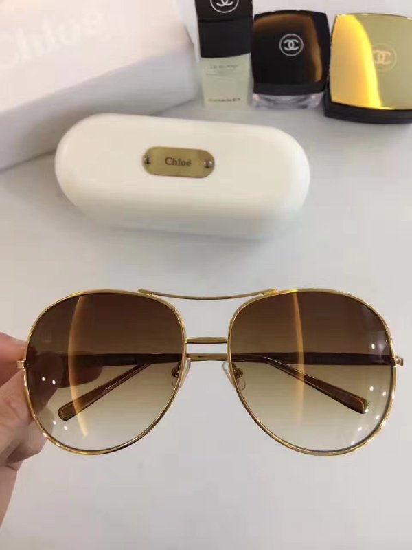 Fashion polarized  CHLOE Sunglasses Optical Frames  SCHL001