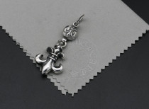 Chrome Hearts Pendant Army Fleur CHP105 Solid 925 Sterling Silver