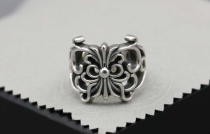 CHROME HEARTS/RING KEEPER CHR102 Solid 925 Sterling Silver