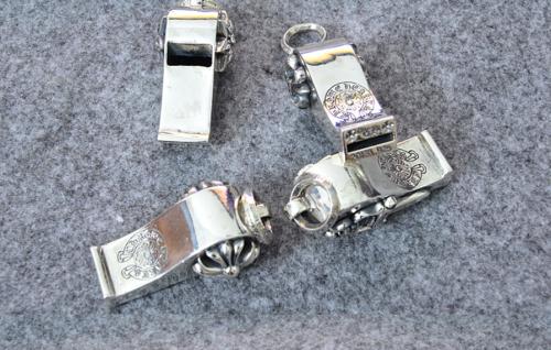 Chrome Hearts Pendant CH CROSS Dagger David Star BS Fleur Whistle CHP018