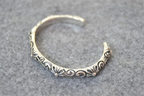 Chrome Hearts Roll Bangle CHT020 Solid 925 Sterling Silver
