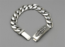 CHROME HEARTS  Punk Sterling Silver Bracelet CHB030