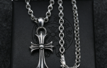 Chrome Hearts Pendant CH CROSS CHP039 Solid 925 Sterling Silver