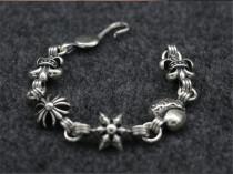CHROME HEARTS Punk 925 Silver Bracelet CHB038