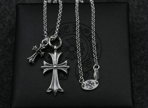 Chrome Hearts Pendant CH CROSS CHP112 Solid 925 Sterling Silver