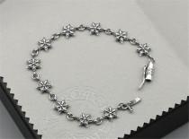 CHROME HEARTS Hexagram Thai Silver Bracelet CHB050