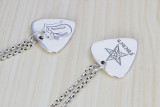 Chrome Hearts Pendant Traingle TAG CHP124 Solid 925 Sterling Silver 80mm