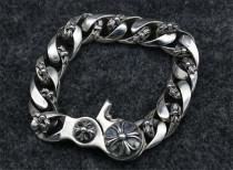 Chrome Hearts Bracelet Classic Link Clip CHB028