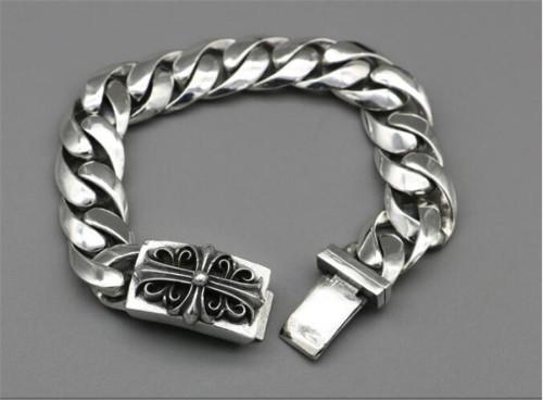 CHROME HEARTS BRACELET Punk Jewelry Cross Rough Bracelet CHB074