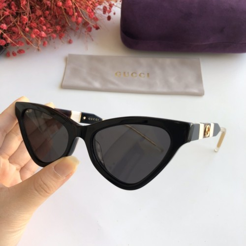 Wholesale Copy 2020 Spring New Arrivals for GUCCI Sunglasses GG0597 Online SG611