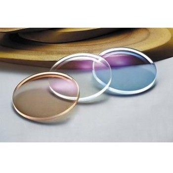 For Sunglasses & Eyeglasses Color changable Super Thin 1.60 High Index Photochromic Transition Lens