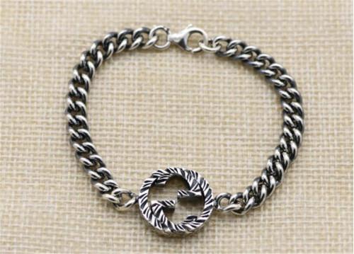 CHROME HEARTS BRACELET Sterling Silver Bracelet Twist CHB079