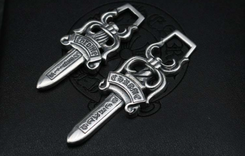 Chrome Hearts Pendant Dagger / Sword CHP044 Solid 925 Sterling Silver