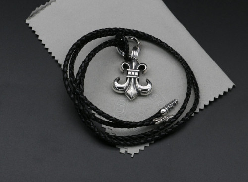 Chrome Hearts Pendant CH ARMY FLEUR CHP147 Solid 925 Sterling Silver
