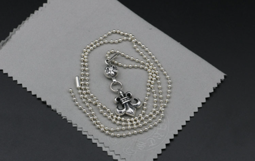 Chrome Hearts Pendant Army Fleur CHP042 Solid 925 Sterling Silver