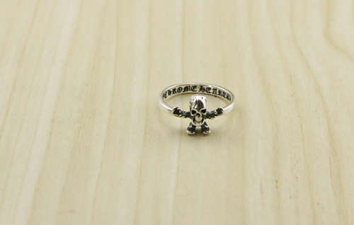 CHROME HEARTS BUBBLE GUM RING FOTI HARRIS TEETER CHR096 Solid 925 Sterling Silver