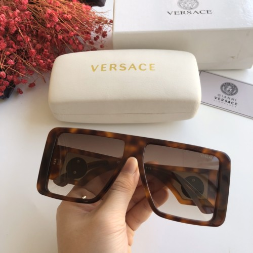 Wholesale Copy 2020 Spring New Arrivals for VERSACE Sunglasses 1048 Online SV163
