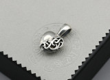Chrome Hearts Pendant Hearts  CHP146 Solid 925 Sterling Silver