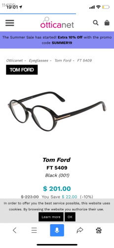 Wholesale Replica TOM FORD Eyeglasses TF5409 Online FTF299