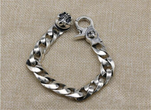 CHROME HEARTS BRACELET Glossy Chain Bracelet CHB083