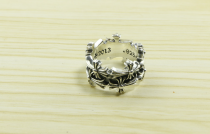 Chrome Hearts LOGO Ring CHR050 Solid 925 Sterling Silver