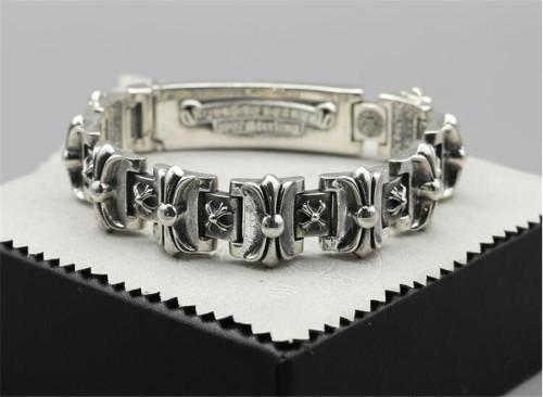 CHROME HEARTS BRACELET Rock Style Vintage Genuine Sterling Silver CHB071