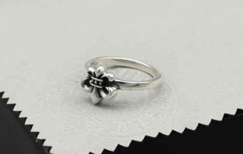 Chrome Hearts Ring Army fleur CHR070 925 Sterling