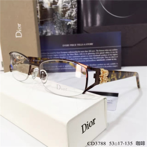 Buy quality DIOR Spectacle frames CD3788 imitation spectacle FC643