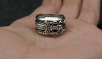 Chrome Hearts Sword Ring Solid 925 Sterling Silver CHR019