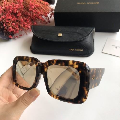 Wholesale Copy 2020 Spring New Arrivals for Linda Farrow Sunglasses LFL99 Online SLF003