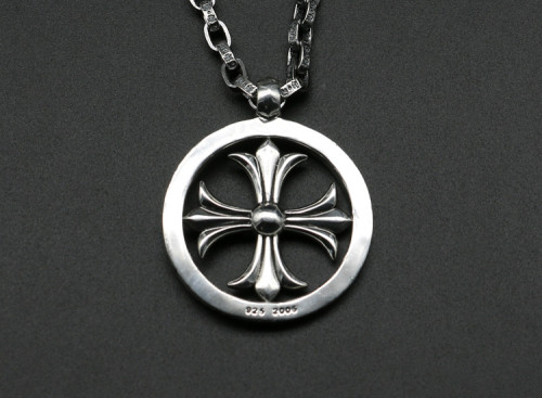 Chrome Hearts Pendant CH CROSS RING CHP143 Solid 925 Sterling Silver