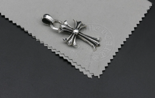 Chrome Hearts Pendant CH CROSS  CHP043 Solid 925 Sterling Silver