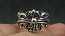 Chrome Hearts Ring Celebrity Solid 925 Silver Amazing CHR028