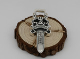 Chrome Hearts Pendant Sword CHP135 Solid 925 Sterling Silver