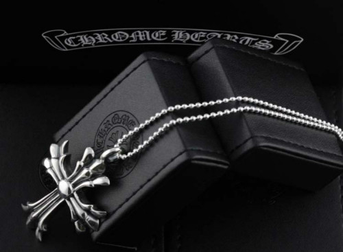 Chrome Hearts Pendant CH CROSS CHP108 Solid 925 Sterling Silver