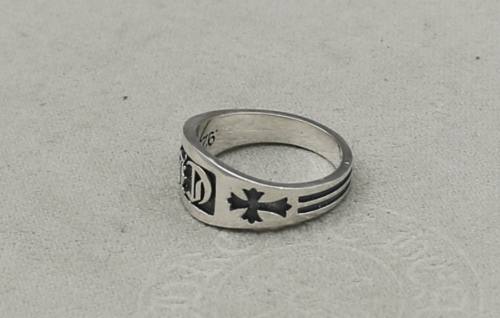 CHROME HEARTS/RING CH CROSS RING CHR090 Solid 925 Sterling Silver