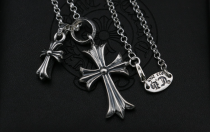 Chrome Hearts Pendant CH CROSS CHP045 Solid 925 Sterling Silver