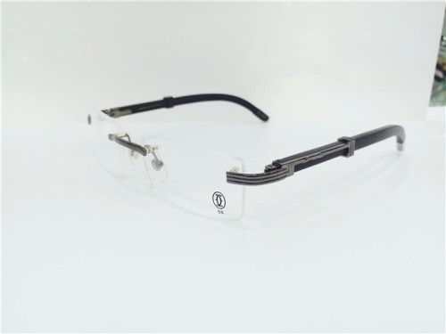 Discount Cartier eyeglasses Spectacle frames Wood FCA225