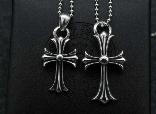 Chrome Hearts Pendant CH CROSS  CHP089 Solid 925 Sterling Silver