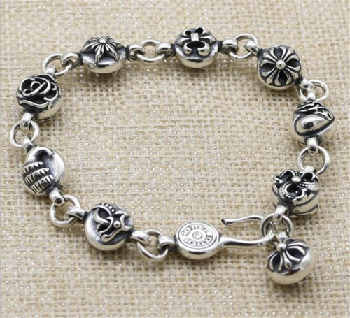 CHROME HEARTS BRACELET Punk 925 sterling silver CHB081
