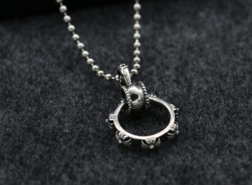 Chrome Hearts Pendant Oring CHP090 Solid 925 Sterling Silver