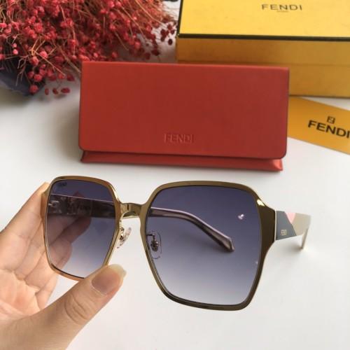 Wholesale Copy 2020 Spring New Arrivals for FENDI Sunglasses 6005 Online SF108