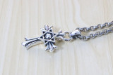 Chrome Hearts Pendant DAVID STAR CH CROSS CHP137 Solid 925 Sterling Silver