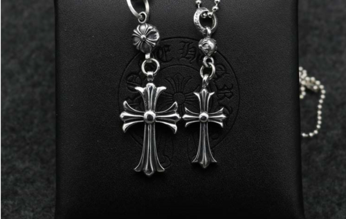Chrome Hearts Pendant CH Cross CHP020 Solid 925 Sterling Silver